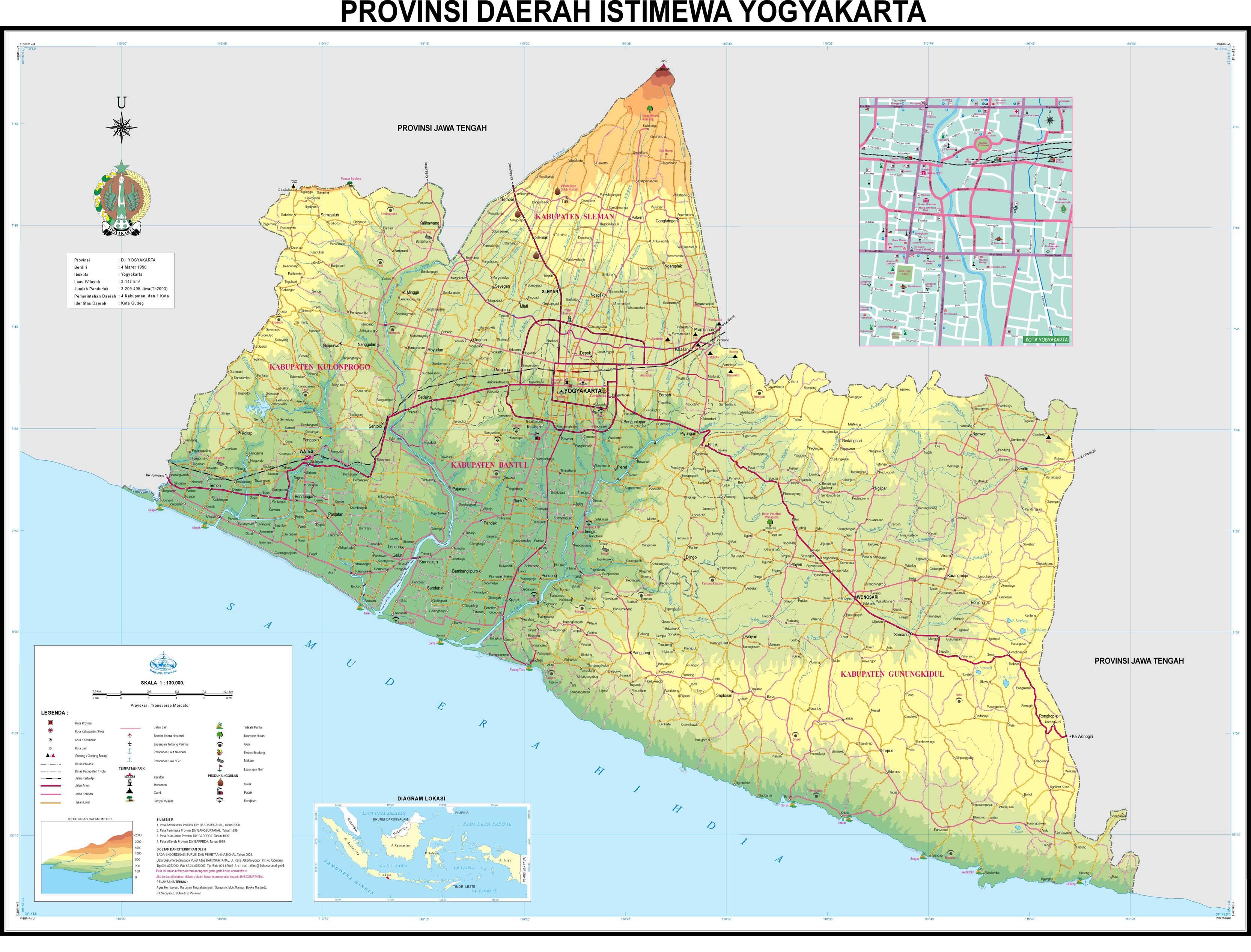 Yogyakarta Digital Map