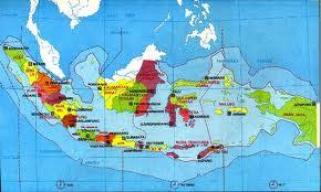 Peta Wilayah Nkri Saripedia Negara Kesatuan Republik Indonesia Mengilustrasikan Beserta