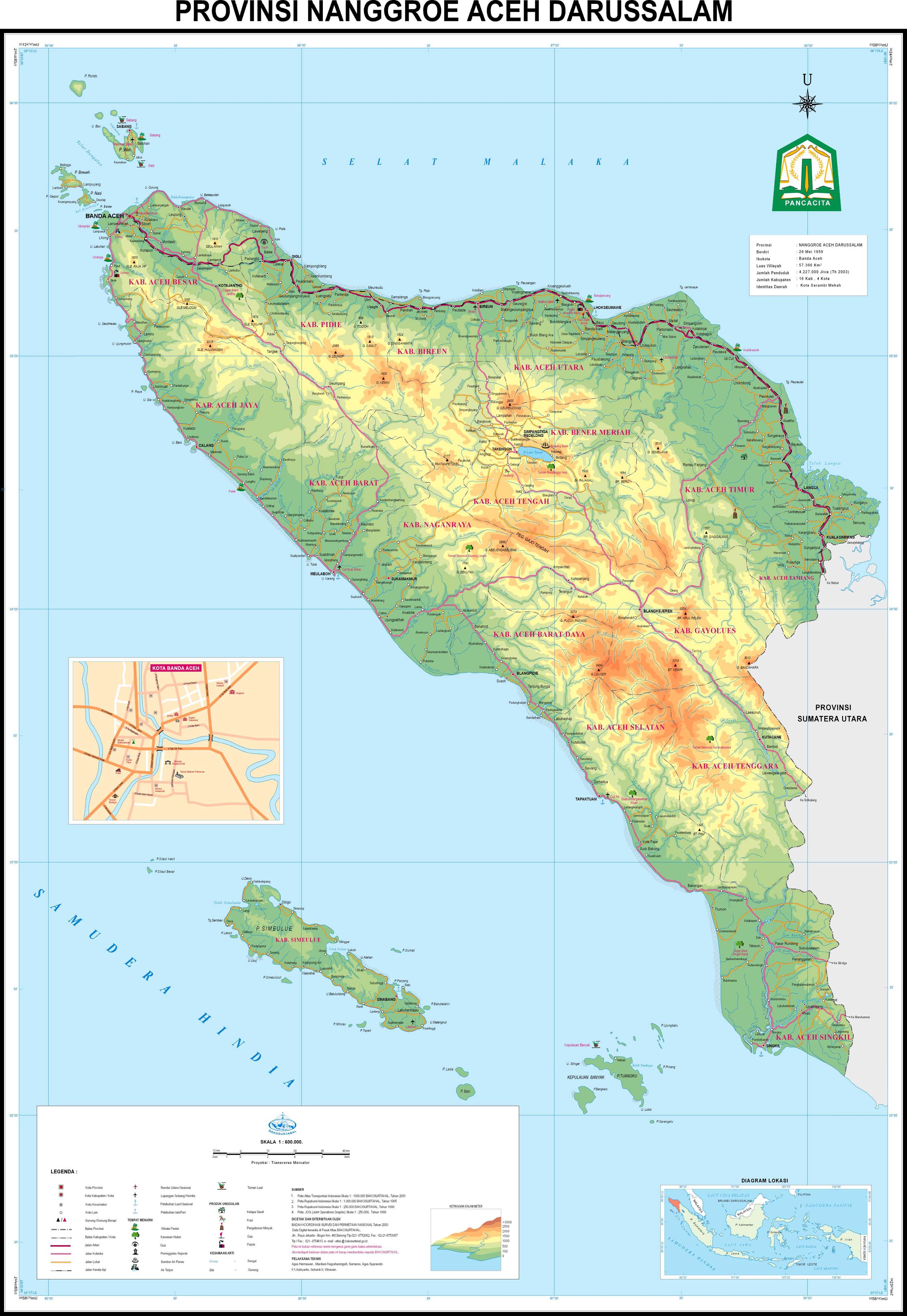 Peta Provinsi Aceh. 02.