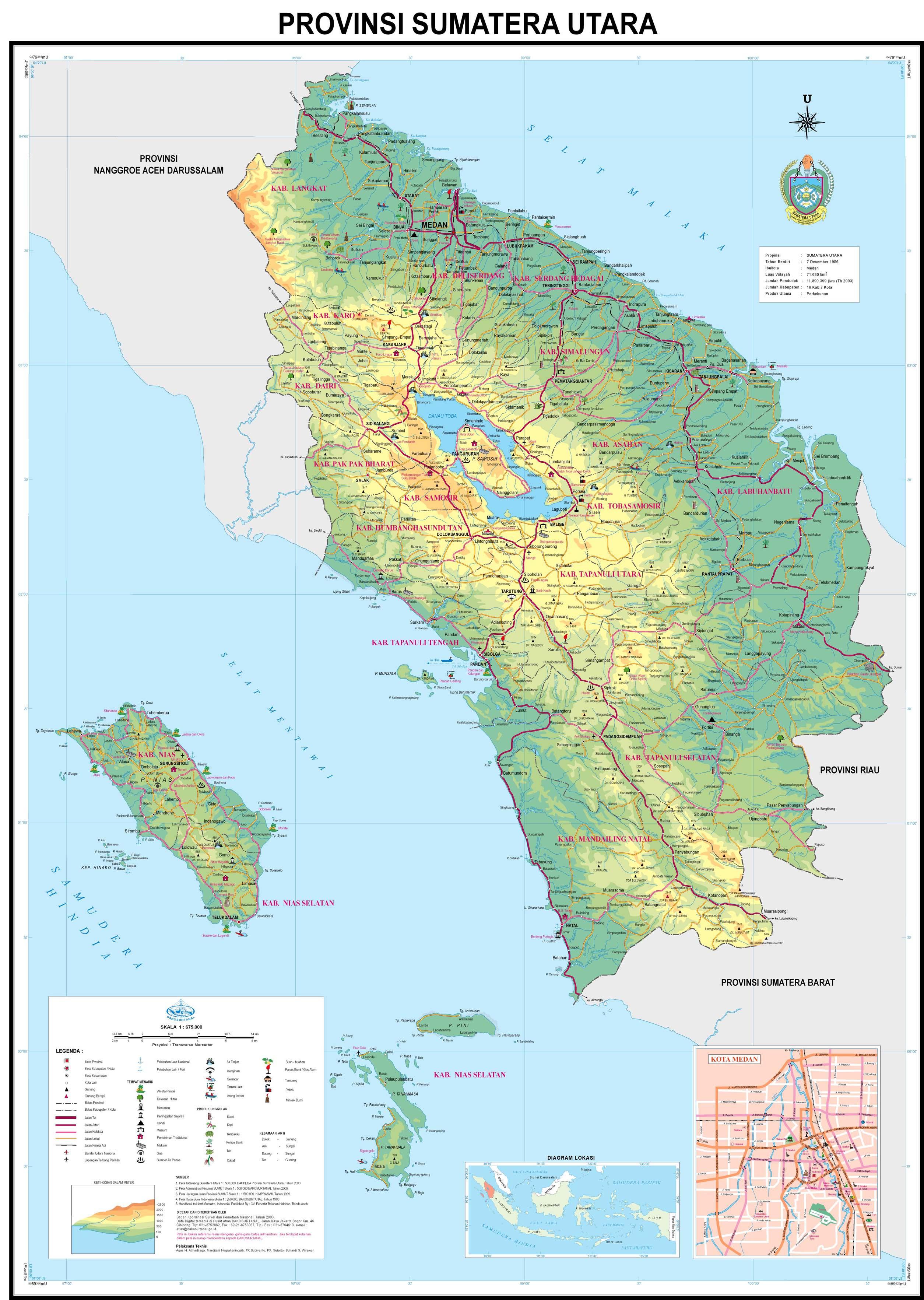 FOKUS GEOGRAFI PETA INDONESIA INDONESIAN MAP