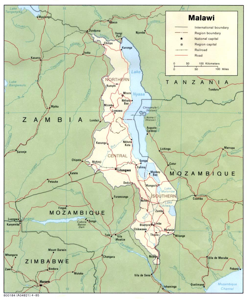 Lake Nyasa Africa Map Golfclub