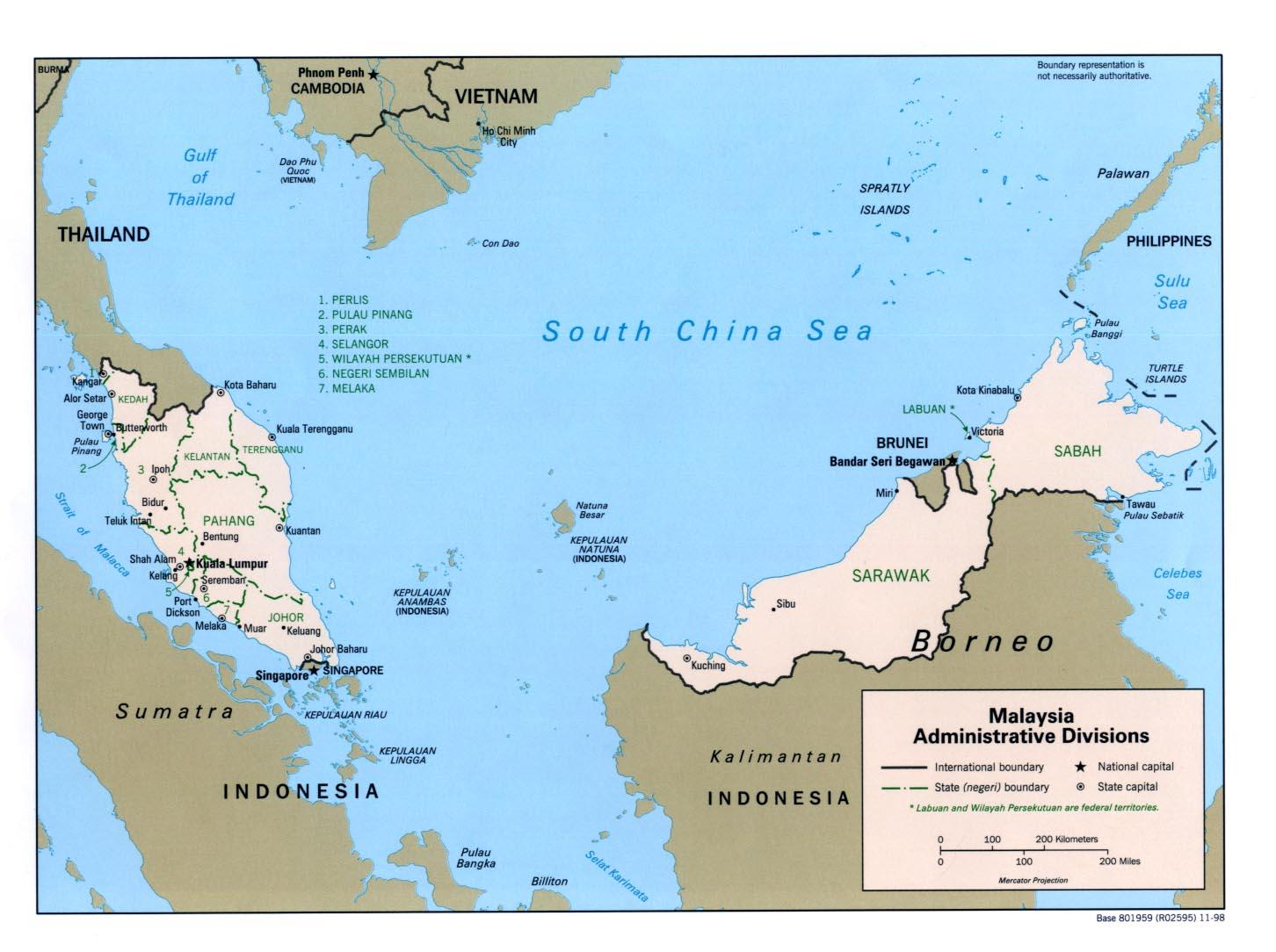 Peta Negara Asean Saripedia 4 Gambar Se