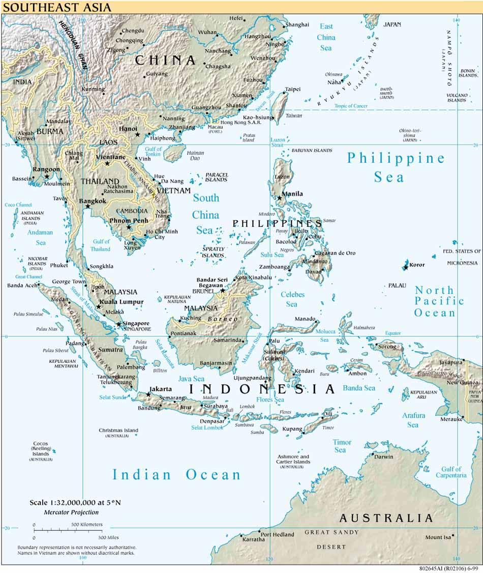 63+ Gambar Peta Asean Kekinian