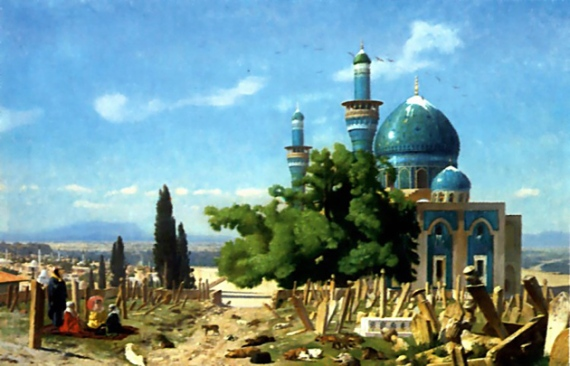 The_Field_of_Rest_Cemetary_of_the_Green_Mosque