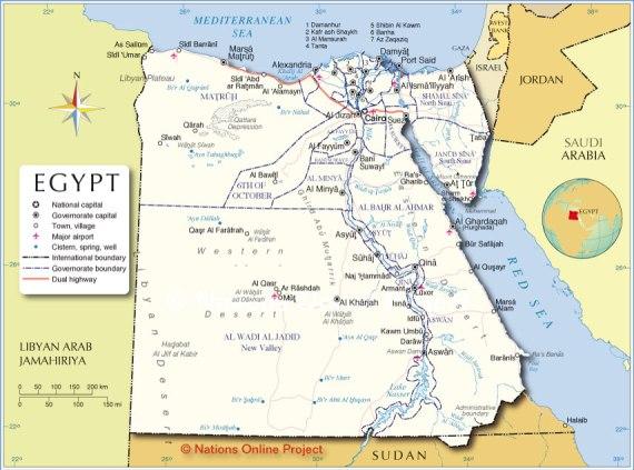 Lokasi mesir yang sangat strategis bagi dunia barat